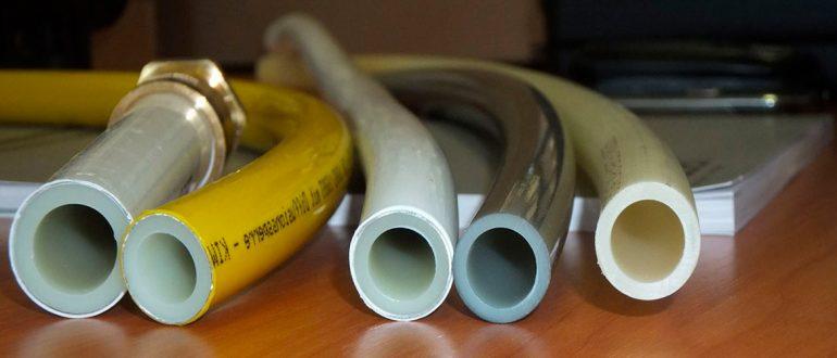 Трубы из сшитого полиэтилена