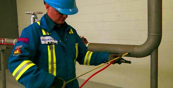Саморегулируемый кабель для обогрева труб водопровода