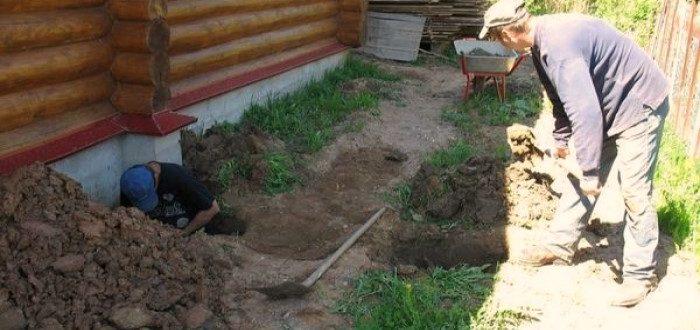 Подвод водопровода к дому
