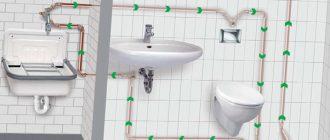 Схема разводки воды в квартире
