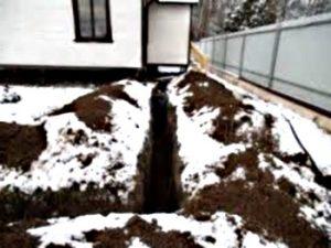 Делаем зимний водопровод на загородном участке