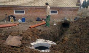 Глубина заложения водопровода