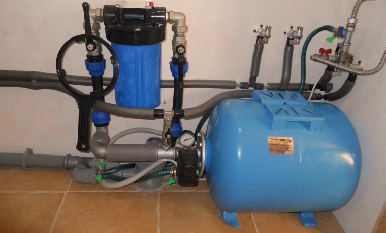 Система дачного водоснабжения