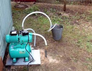 насосная станция для скважины