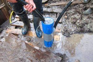 гидробурение скважин водой