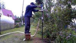 подготовка к гидробурению скважины