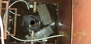 ремонт металлического кессона