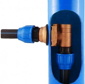 скважинный адаптер для обустройства скважины