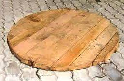 деревянный поддон для донного фильтра